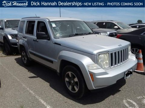 Pre-Owned 2008 Jeep Liberty Sport RWD 4D Sport Utility