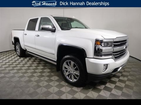Pre-Owned 2017 Chevrolet Silverado 1500 High Country 4WD 4D Crew Cab